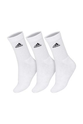 adidas CUSH CRW 3PP Beyaz Kadın Çorap 101069014