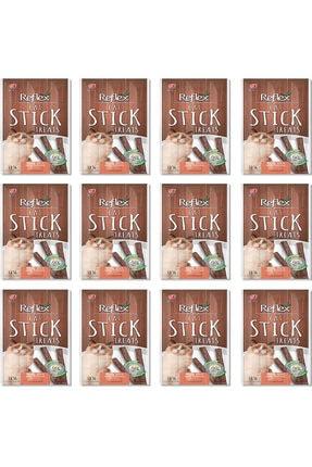 Reflex Reflex Sticks Somonlu Kedi Ödül Çubuğu 5 Gr x 3 Adet 12'Lİ SET