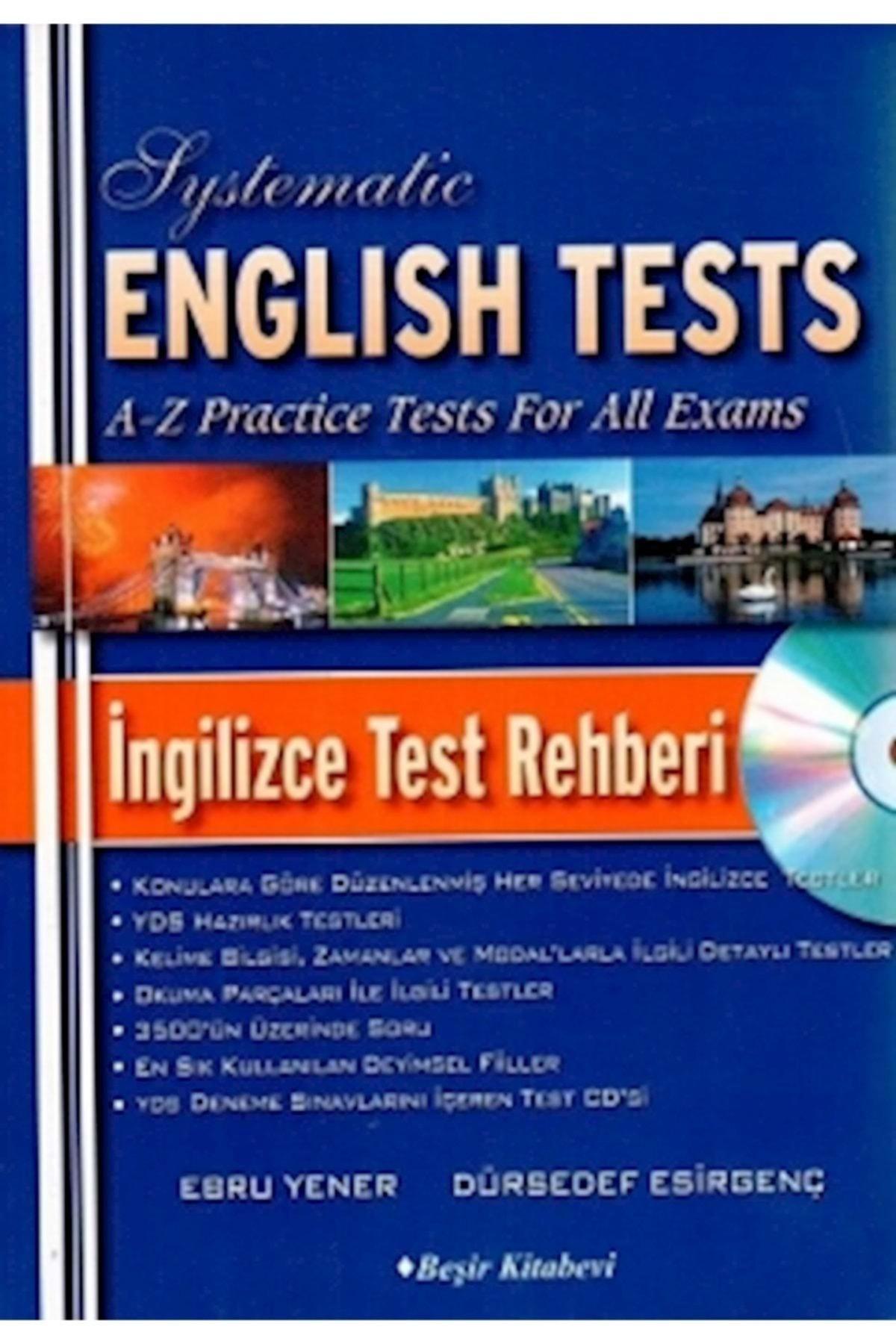 Beşir Kitabevi Systematic English Tests İngilizce Test Rehberi 1