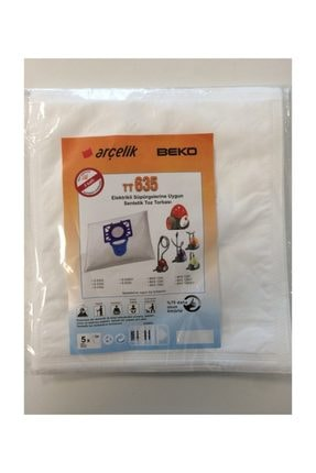 Beko - Beko Tt635 Süpürge Torbası 5 Adet