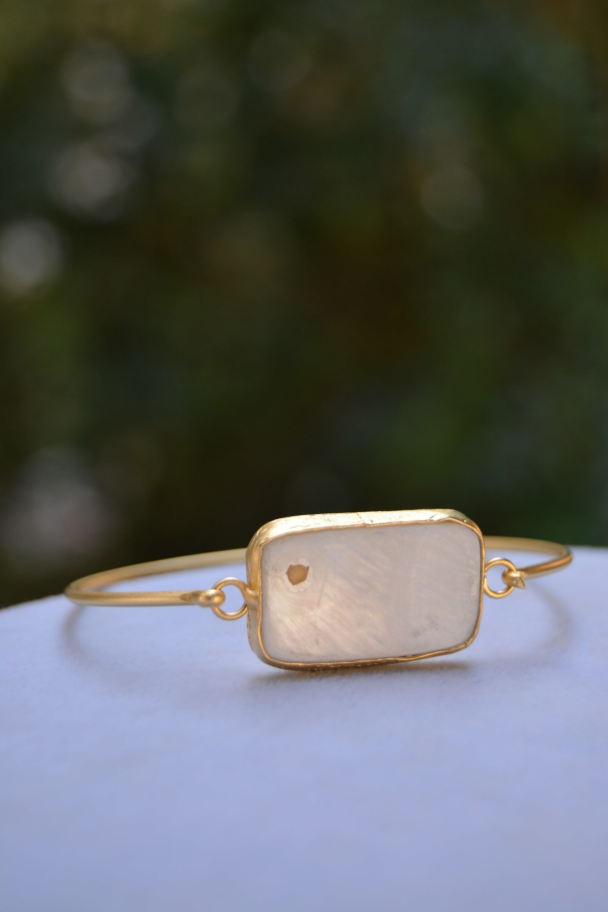 Stoneage Sedef Taşlı Altın Kaplama Bayan Bileklik 2