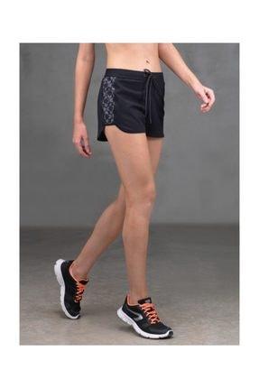 Blackspade Kadın Spor Şort - 6890 - Siyah