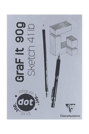 Clairefontaine Graf It Dot Noktalı Blok 90g 80 Yaprak A4