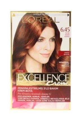 L'oreal Professionnel Excellence 6.45 Sıcak Bakır Kahve Saç Boyası