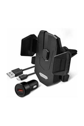 Spigen Hızlı Kablosuz Şarjlı Araç Tutucu (universal),  Kuel Qi 10w + 18w Hızlı Araç Şarjı X35w
