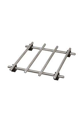 IKEA Lamplıg 18x18 Cm Metal Paslanmaz Çelik Nihale
