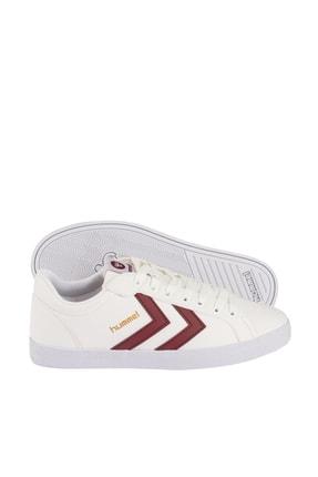 HUMMEL Unisex Beyaz Spor Ayakkabı - Deuce Court Tonal