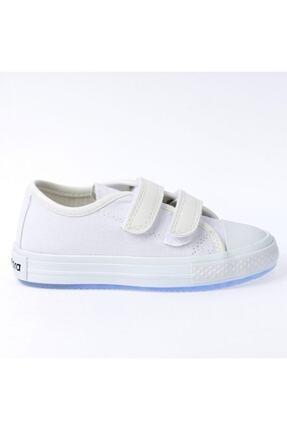 Pandora Çocuk Beyaz Keten Işıklı Ayakkabı