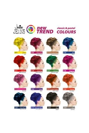 Jamaican Jean's Color Saç Boyası Gece Mavisi