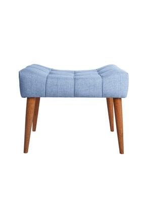 Ze10 Design New Cool Puf Indigo Mavi