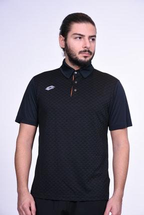 Lotto Polo Yaka T-shirt-erkek-siyah/turuncu-polo Mlt Pl Iı-r8246