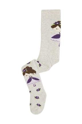 Bross Prenses Kız Desenli Havlu Bebek Külotlu Çorap