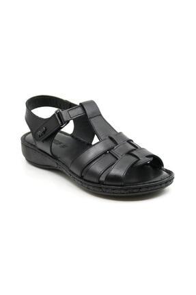 Muya Hakiki Deri Ortopedi Kadın Sandalet 97159