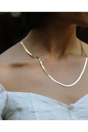 Reis Kuyumculuk Kadın Kemer Sarı Altın Kolye T1045.