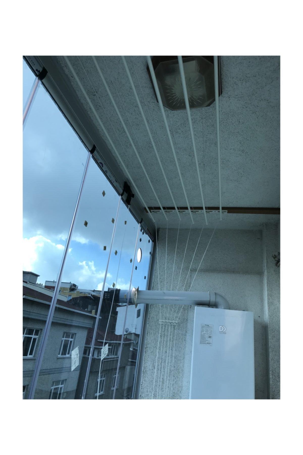LYRA Asansörlü Çamaşırlık 6 Çubuklu 140 Cm 1