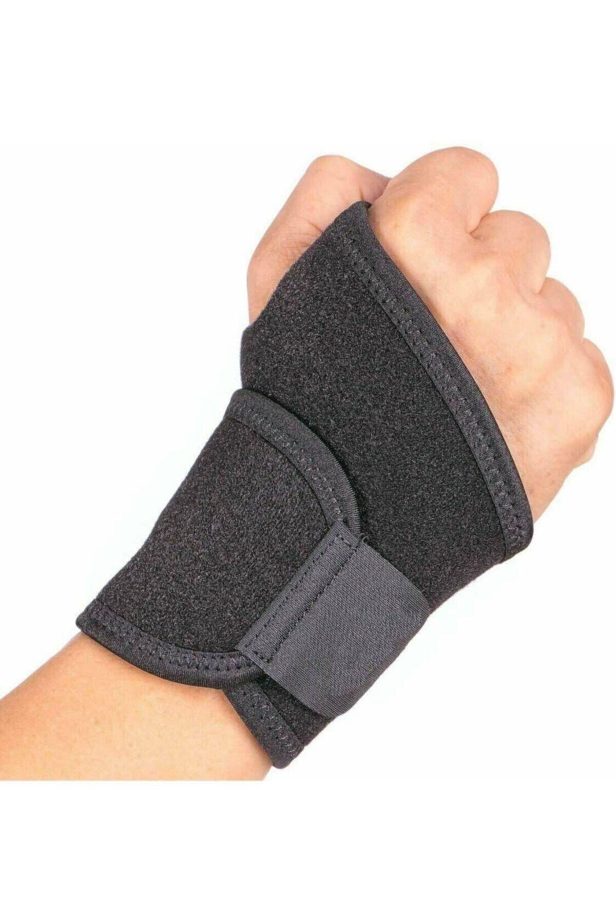Ankara Medikal El Bilek Bandajı - Bandaj Bilekliği - Ayarlanabilir Parmaklı El Bilekliği 1