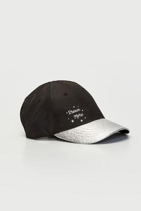 LC Waikiki Kız Çocuk Siyah Heg Şapka