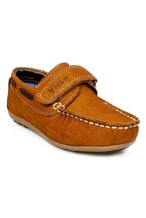 Vicco 910.p20y.053 Patik Deri Taba Çocuk Ayakkabı
