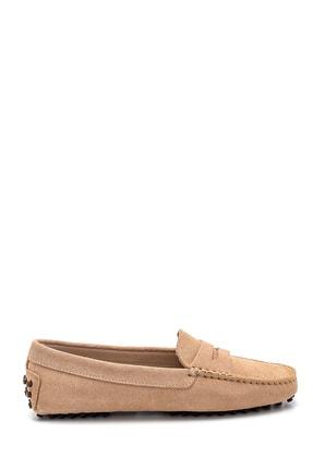 Derimod Kadın Süet Loafer Ayakkabı