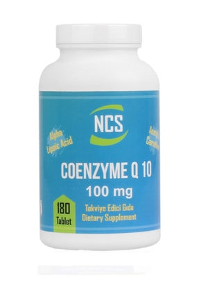 NCS Koenzim Q-10 Alfa Lipoik Asit L-karnitin Coenzyme Q-10 180 Tablet