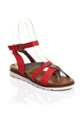 BUENO Kırmızı Kadın Sandalet 9L0510