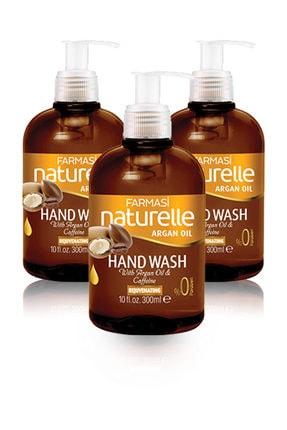 Farmasi Naturelle Argan Yağlı Tazeleyici Sıvı El Sabunu-300 ml 3 Adet