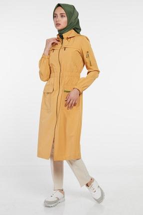 Tuğba Kadın Yağmurluk-Sarı TK-U3104-28