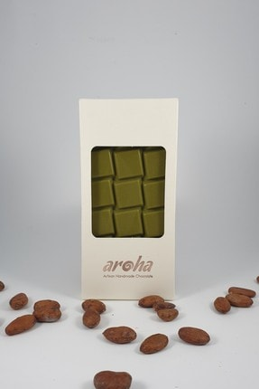 AROHA Stevialı Matchalate Diyabetik Çikolata-%50 Kakao-5'li Paket