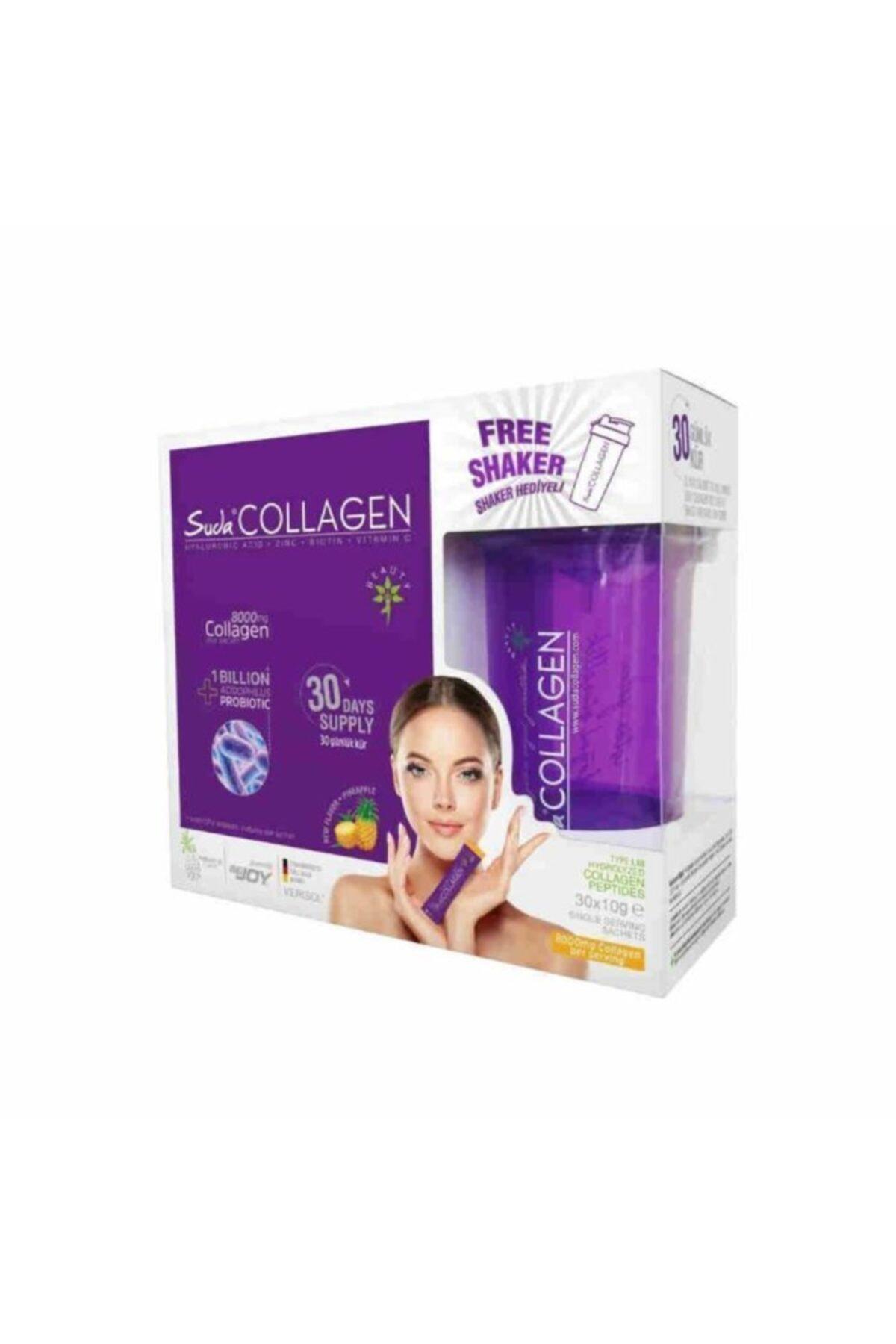 Suda Collagen Probiyotik Kollajen Ananaslı 30 X 10 Gr 1