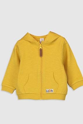 LC Waikiki Erkek Bebek Sarı Mz0 Sweatshirt