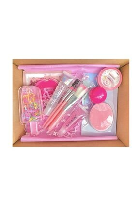 buenas store Princess Set Lip Gloss, Lip Oil, Lip Balm & Yüz Bakım Set