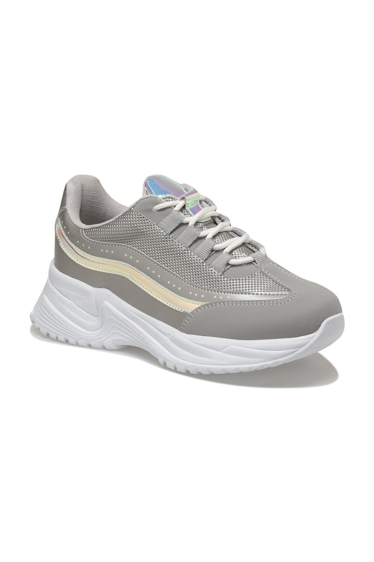 Butigo 20S-549 Gri Kadın Sneaker Ayakkabı 100517488 1