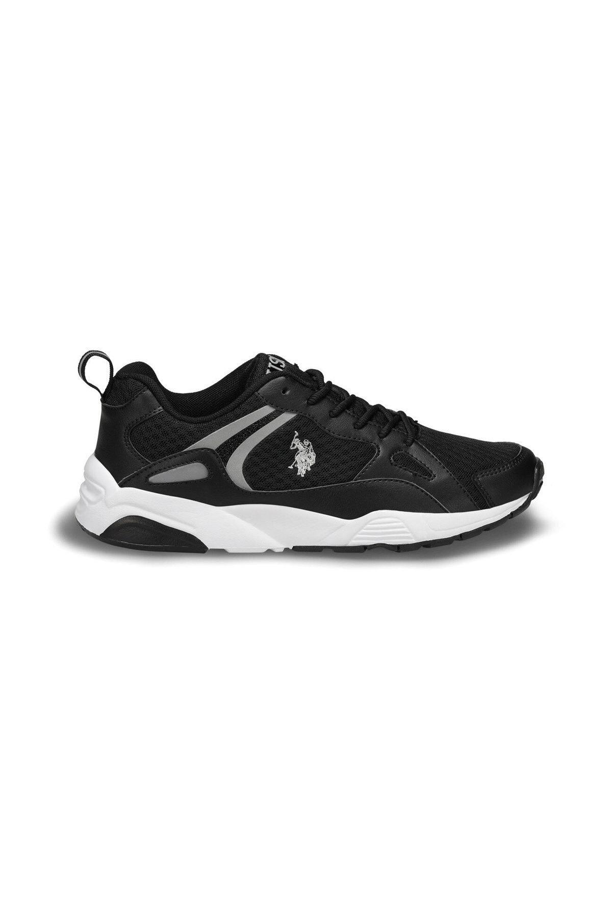 U.S. Polo Assn. BERLINGO Siyah Erkek Sneaker Ayakkabı 100489325 2
