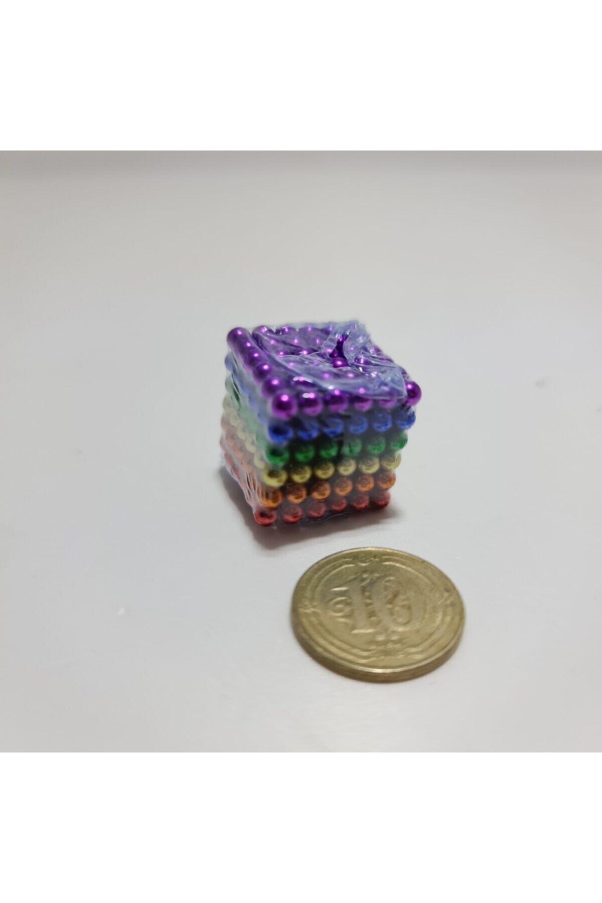 Kids Sihirli Manyetik Toplar 3mm (6 Renkli) Manyetik Mıknatıs 2