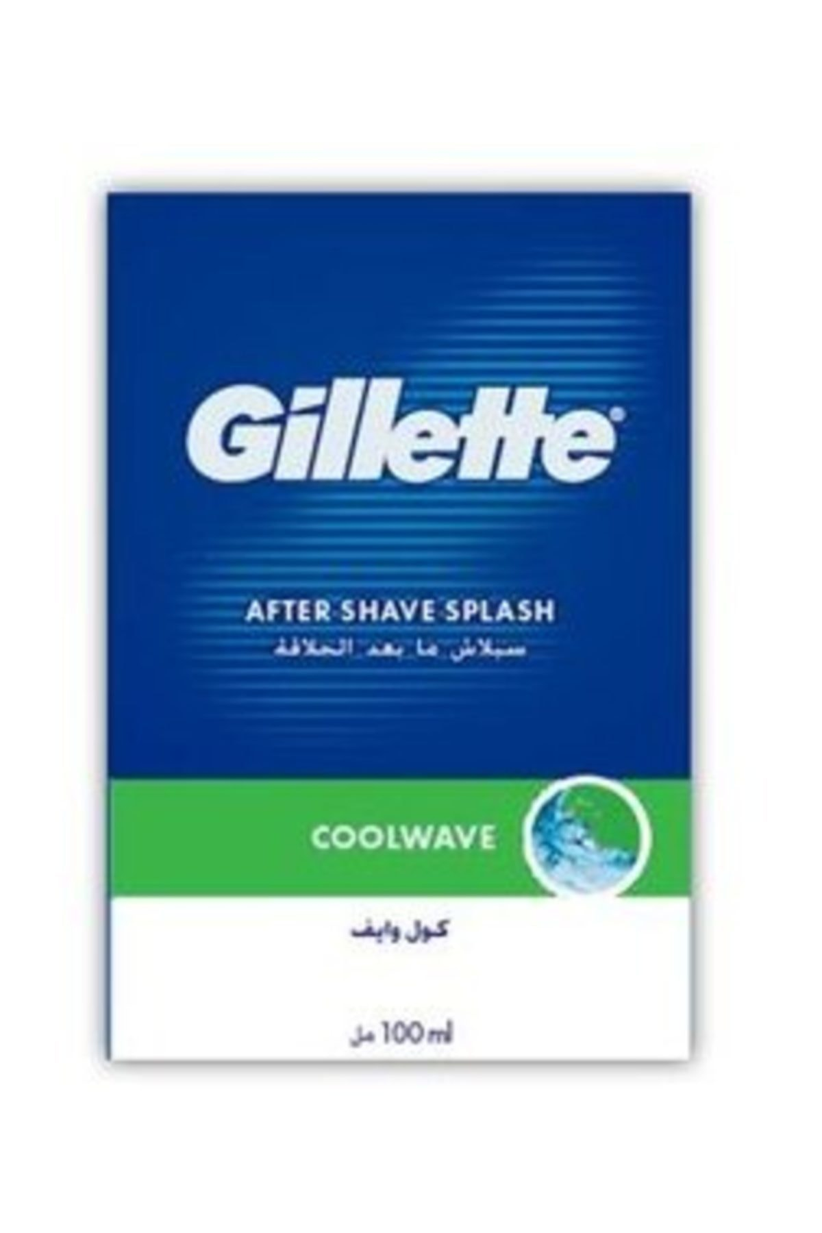 Gillette After Shave Splash Coolwave Tıraş Losyonu 100ml 1