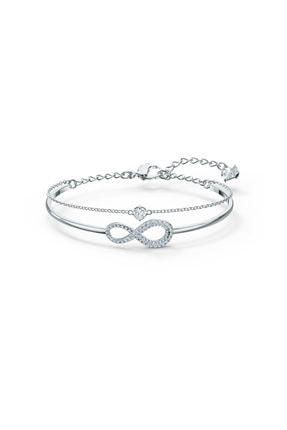 Swarovski Bileklik Swa Infinity-bangle Chain Cry-czwh-rhs M 5520584