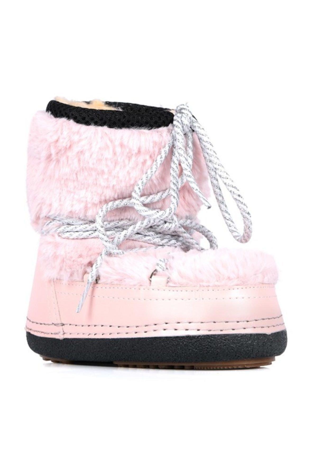 Oblavion Kız Çocuk Pembe Moonia Kids Soft Pink Kar Botu 2