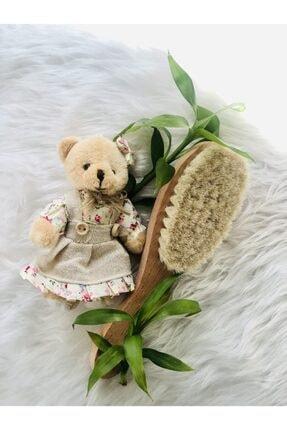 ComesCosmetic %100 Doğal Keçi Kılı Bebek Saç Fırçası
