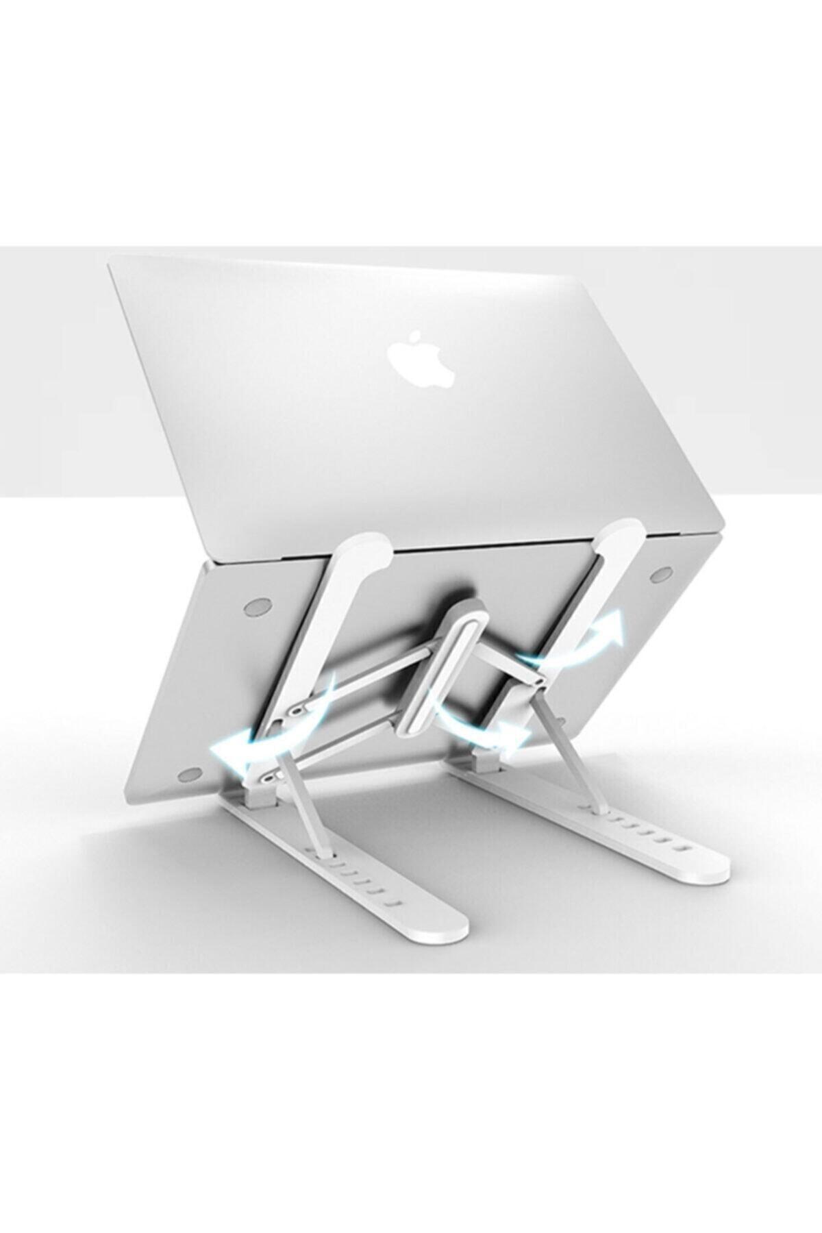 Universal Detayteknoloji Notebook Laptop Standı Özel Yükseltici Aparat Alüminyum Tasarım 1