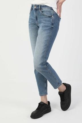 Colin's 891 Maya Slim Fit Orta Bel Rahat Kesim Paça Kadın Indigo Jean Pantolon