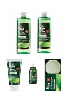 Farmasi Çay Ağacı - Jel + Tonik + Yüz Kremi + Sabun + Serum