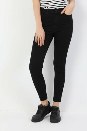 Colin's 760 Dıana Super Slim Fit Yüksek Bel Skinny Leg Kadın Siyah Jean Pantolon