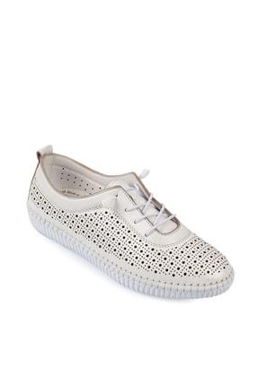 Daxtors Beyaz Kadın Ayakkabı DXTRSWMN5004