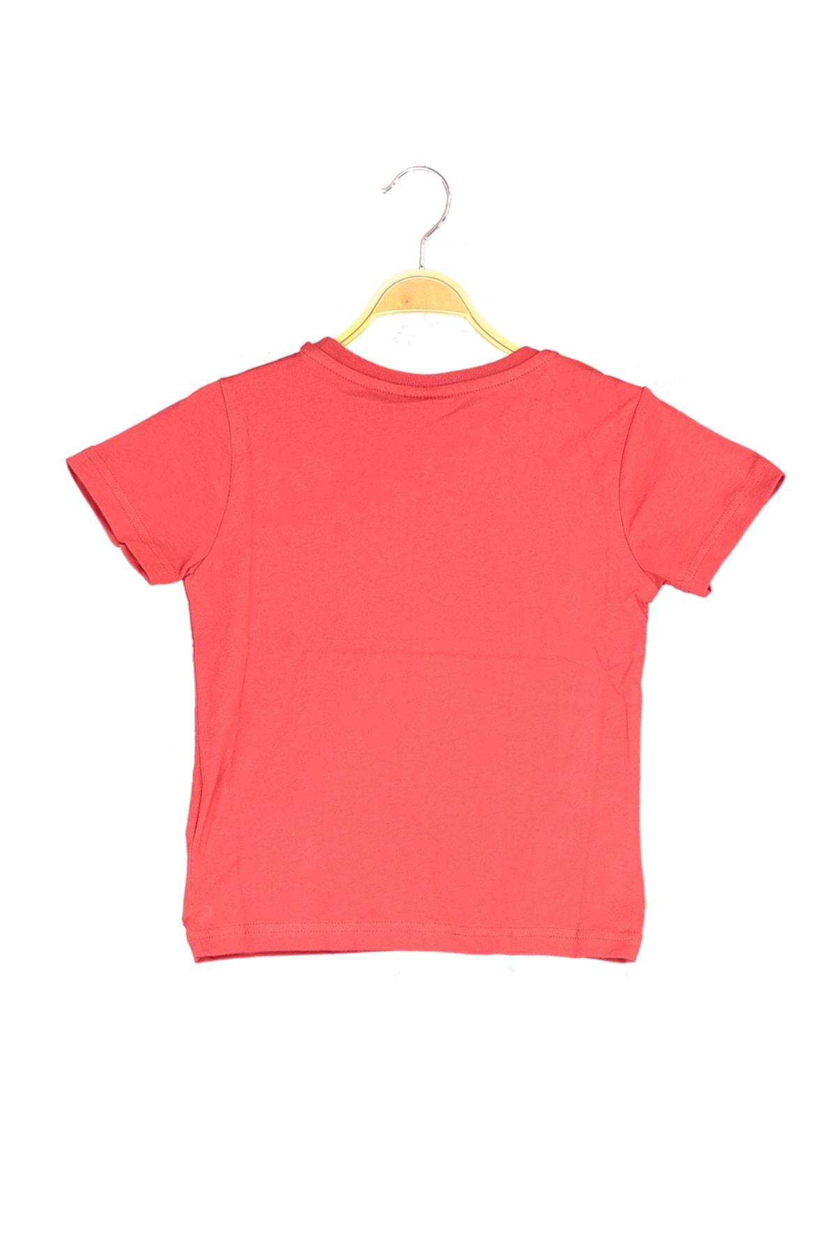 HUMMEL Kırmızı Erkek Çocuk T-Shirt 2