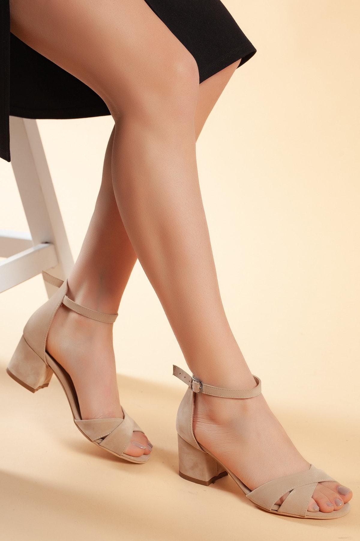Daxtors Vizyon-Süet Kadın Ayakkabı DXTRFLRN204 1
