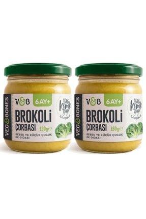 Veg&Bones Brokoli Çorbası 190 Gr 2'li Paket