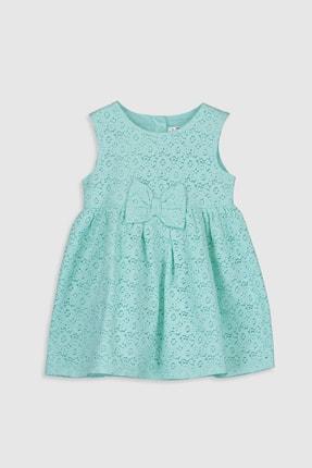 LC Waikiki Kız Bebek Açık Turkuaz G0C Elbise