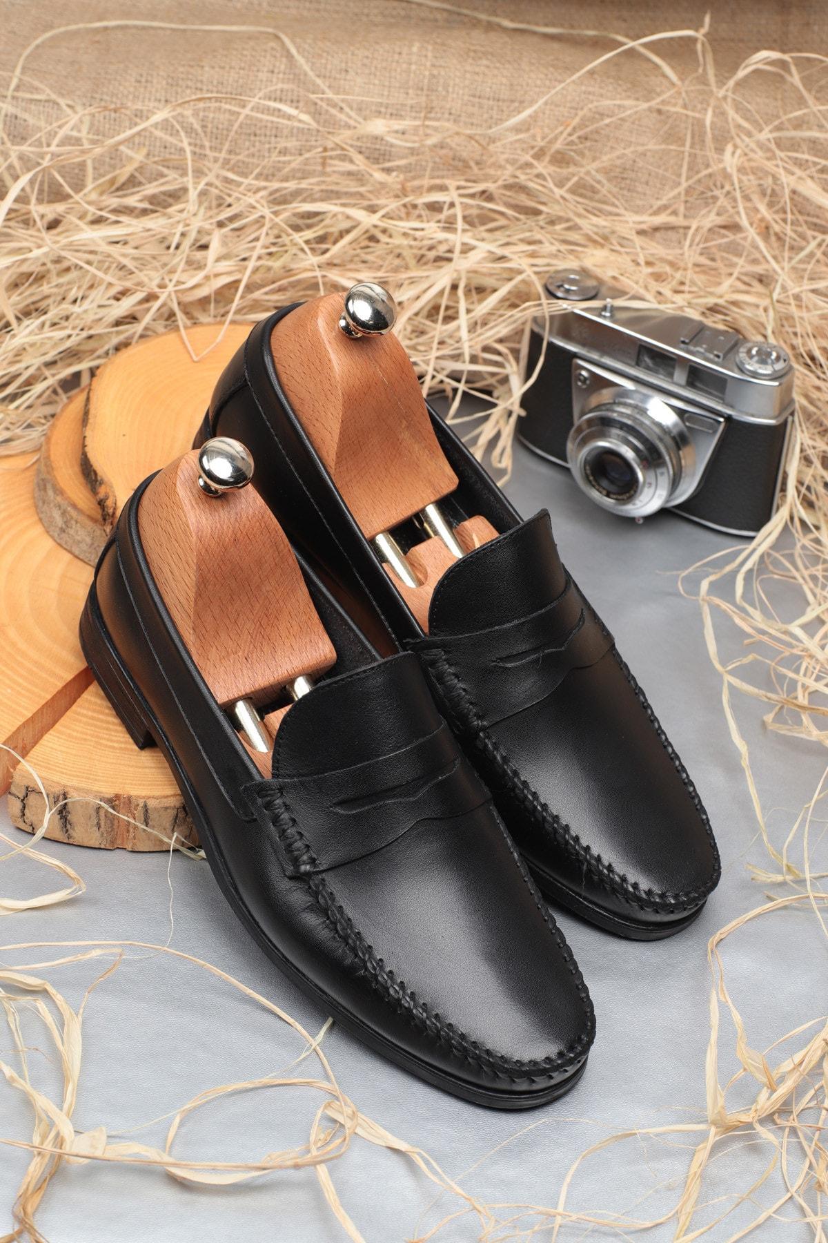 Daxtors D10180 Günlük Klasik Hakiki Deri Erkek Ayakkabı 1