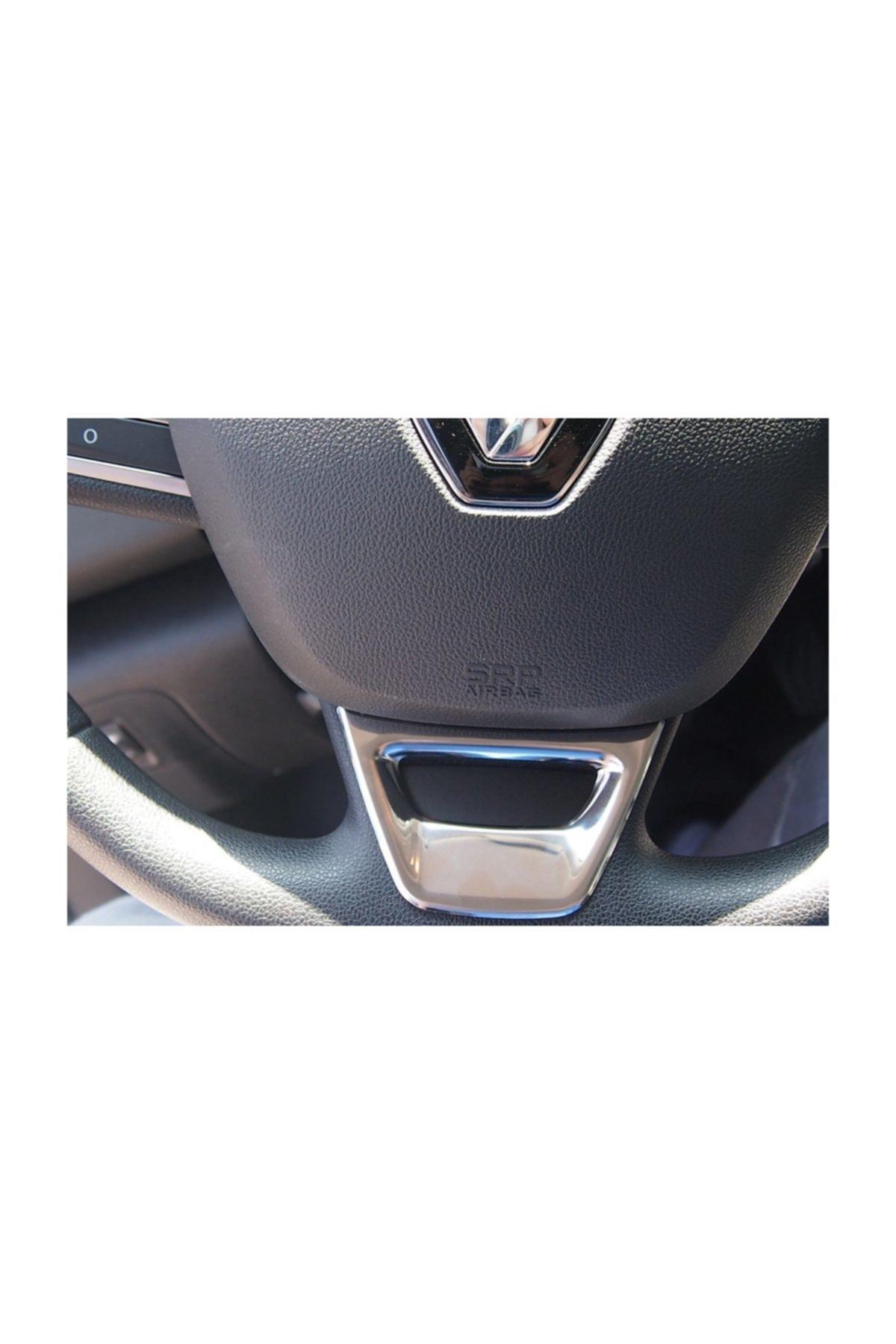 Omsa Renault Megane 4 Hb/sedan Mat Direksiyon Kromu 2016 Ve Sonrası 2