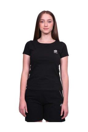 Lotto Kadın Siyah T-Shirt
